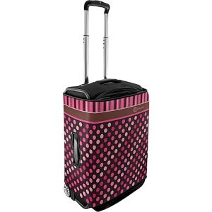 Small Luggage Cover - Polka Dots