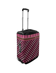 Large Luggage Cover - Polka Dots by CoverLugg