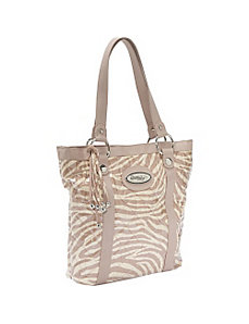 Denise Bag, Tan Zebra by Donna Sharp