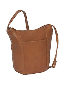 Double Top Zip Hobo by David King & Co.