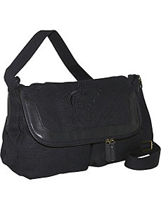 Zip Flap Bag - Blk