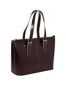 Milano Collection Madison Avenue Laptop Tote by Jack Georges