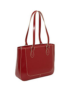 Milano Half Moon Collection East/West Laptop Tote by Jack Georges