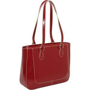 Milano Half Moon Collection East/West Laptop Tote