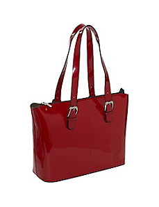 Patent Collection Madison Avenue Business Laptop Tote by Jack Georges
