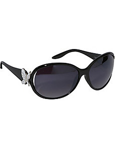 Oval Butterfly Fashion Sunglasses by SW Global Sunglasses