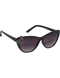 Cateye Cute Rhinestone Sunglasses by SW Global Sunglasses