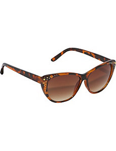 Cateye Rhinestone Sunglasses by SW Global Sunglasses