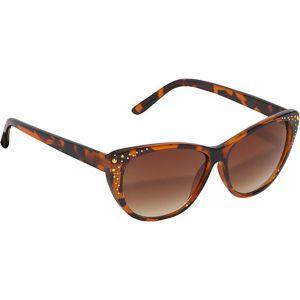Cateye Rhinestone Sunglasses