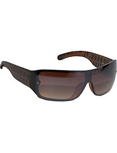 Wrap Rimless Sunglasses by SW Global Sunglasses