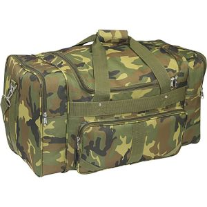 Jungle Camo 27' Duffel Bag