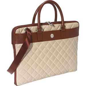 Avignon Quilted Slim Laptop Brief (Bayswater)