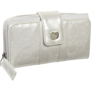 Hello Kitty Ivory Patent Embossed Wallet