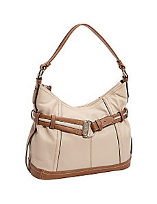 Soft Cinch Double Entry Hobo by Tignanello