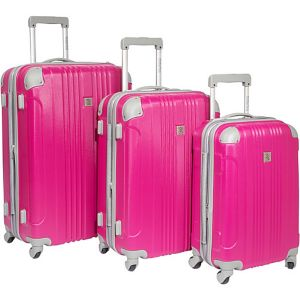 Malibu 3 Piece Hardside Spinner Luggage Set
