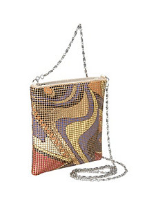 Floral Metal Mesh Small Crossbody by Magid