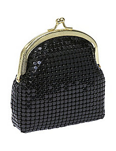 Metal Mesh single coin purse by Magid