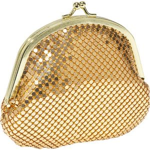 Metal Mesh double coin purse