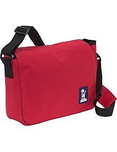 Straight-Up Red Kickstart Messenger Bag by Wildkin