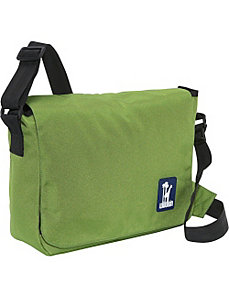 Fern Green Kickstart Messenger Bag by Wildkin