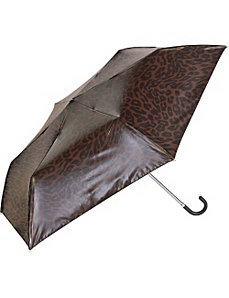Manual Compact Print Umbrella w/ Mirror Finish by ShedRain