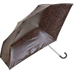 Manual Compact Print Umbrella w/ Mirror Finish