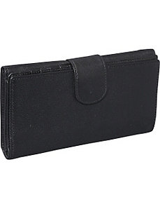Ladies credit card clutch by Derek Alexander