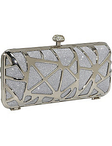 HardCase Shinny Clutch by J. Furmani