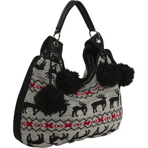 Sweater Knit Hobo Bag