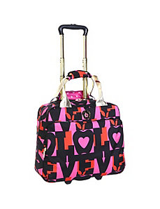 Love Wheeled Tote by Double Dutch Club Luggage