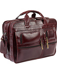 Special Edition Italian Executive Laptop Briefcase by ClaireChase
