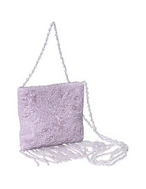 Beaded Mini Cross Body with Fringe by Moyna Handbags