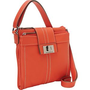 Fab Function Pebble Leather N/S Crossbody