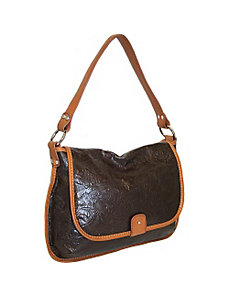 Full Flap shoulder bag by Nino Bossi