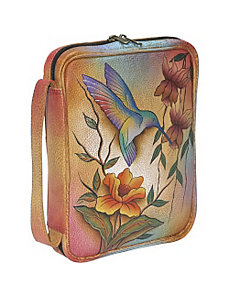 Zip Around Tablet/ E-reader Cover - Flying Jewels by Anuschka