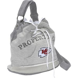 NFL Hoodie Duffel Grey/Kansas City Chiefs