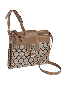9 Jacqaurd Crossbody by Nine West Handbags