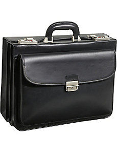 Modern Attache Leather Executive Brief by AmeriLeather