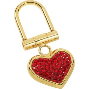 Small Heart Key Chain