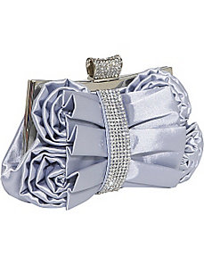 Fashion Clutch with Rhinestones by J. Furmani