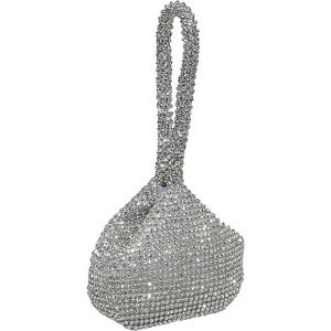 Hand Held Crystal Evening Bag
