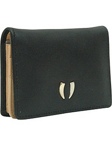 Donington Gold Business Card Case with ID by TUSK LTD