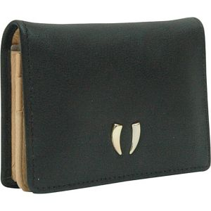 Donington Gold Business Card Case with ID