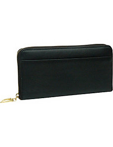 Donington Gold Zip Clutch Wallet by TUSK LTD
