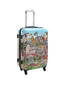 "New York Wind Beneath Our Wings 26"" Spinner Case"