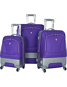 Majestic 3 Piece Exp. Luggage Set by Olympia