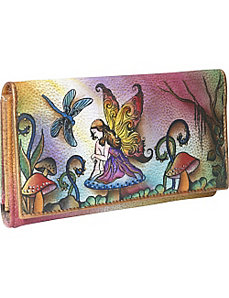 Multi Pocket Wallet/Clutch: Enchanted Fairy by Anuschka