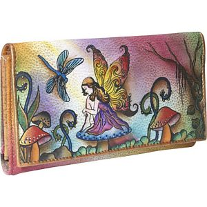 Multi Pocket Wallet/Clutch: Enchanted Fairy