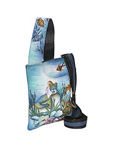 Slim Cross Shoulder Bag- Little Mermaid by Anuschka