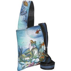 Slim Cross Shoulder Bag- Little Mermaid